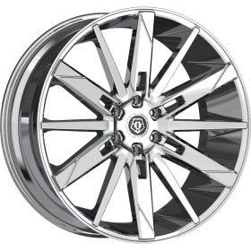 TIS Custom Wheels 545C CHROME