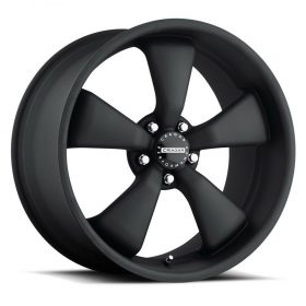 Cragar Custom Wheels 617B Modern Muscle MATTE BLACK