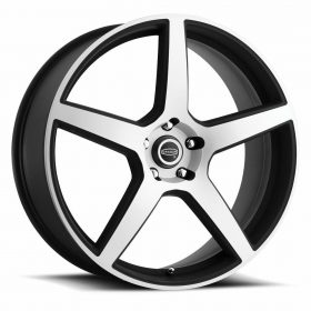 Cragar Custom Wheels 620MB Modern Muscle Matte Machined Black