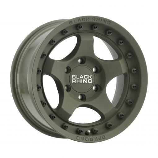 Black Rhino Custom Wheels BANTAM GREEN