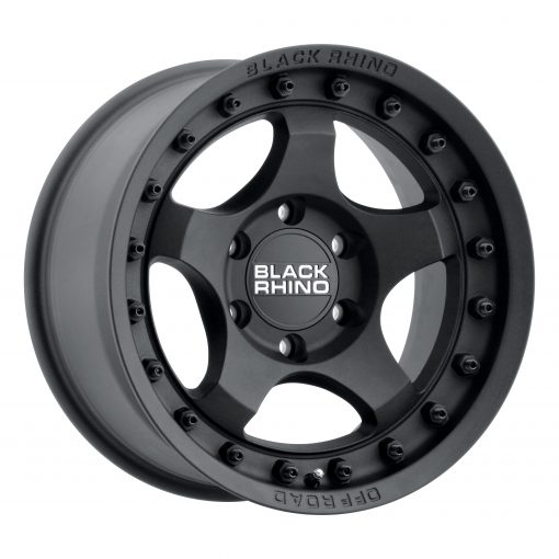 Black Rhino Custom Wheels BANTAM TEXTURED BLACK