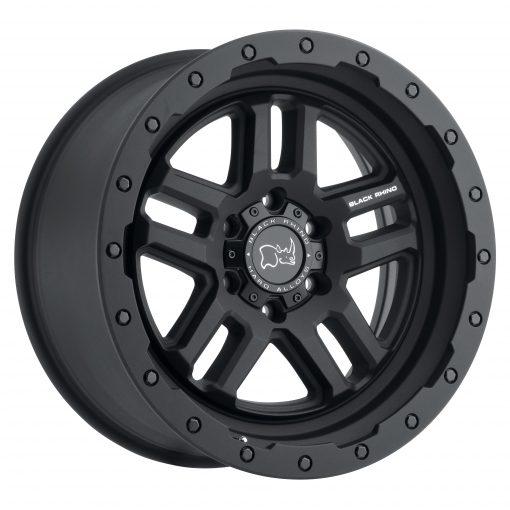 Black Rhino Custom Wheels BARSTOW TEXTURED MATTE BLACK