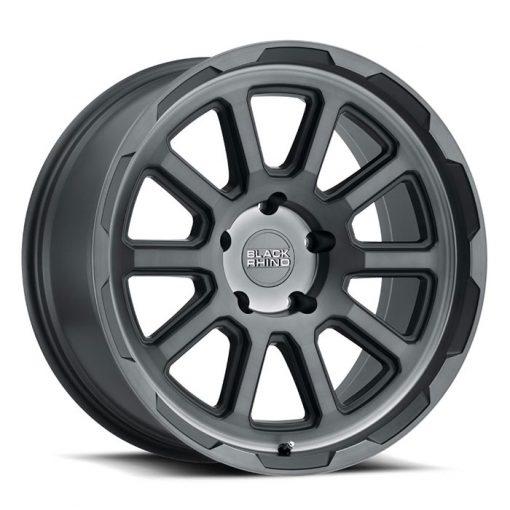 Black Rhino Custom Wheels CHASE Brushed Gunmetal