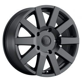 Black Rhino Custom Wheels JOURNEY MATTE BLACK