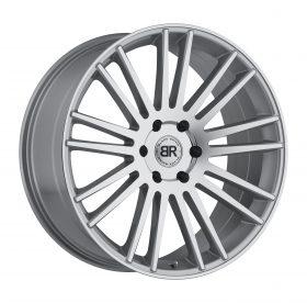 Black Rhino Custom Wheels KRUGER SILVER W/MIRROR CUT FACE