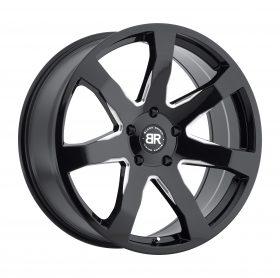 Black Rhino Custom Wheels MOZAMBIQUE BLACK MILLED
