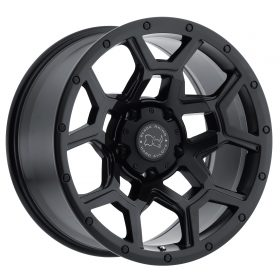 Black Rhino Custom Wheels OVERLAND MATTE BLACK