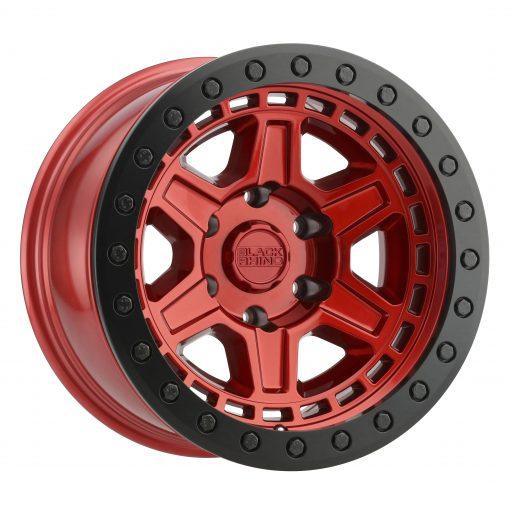 Black Rhino Custom Wheels RENO BEADLOCK CANDY RED W/BLACK RING & BLACK BOLTS