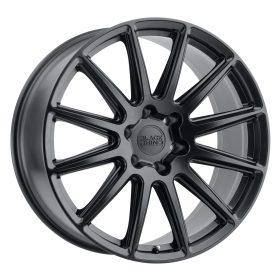 Black Rhino Custom Wheels WAZA BLACK