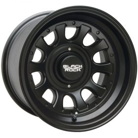 Black Rock Custom Wheels 909B Type D Alloy MATTE BLACK