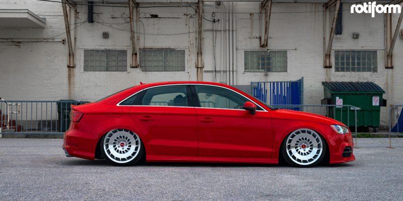 Audi S3 19 Rotiform CCV Wheels