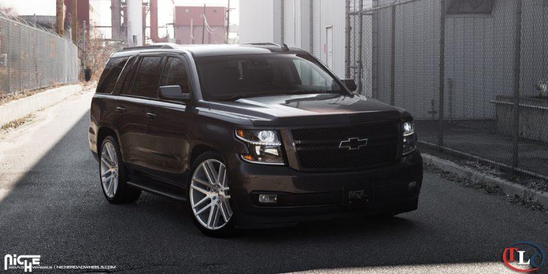 Chevrolet Tahoe 24 Niche Elan M099 Wheels
