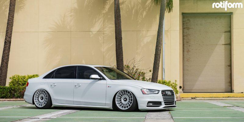 Audi S4 20 Rotiform LAS-R Wheels