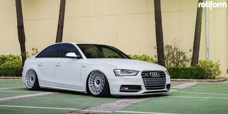 Audi S4 20 Rotiform LAS-R Wheels