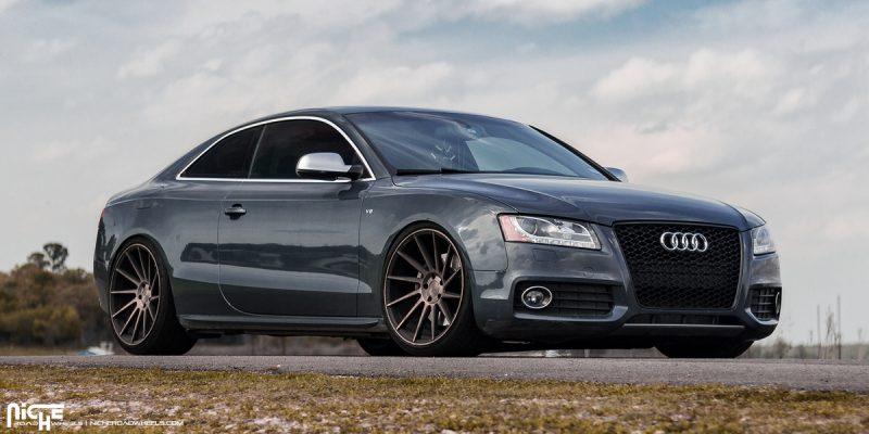 Audi S5 20x10.5 Niche Surge M114 Wheels