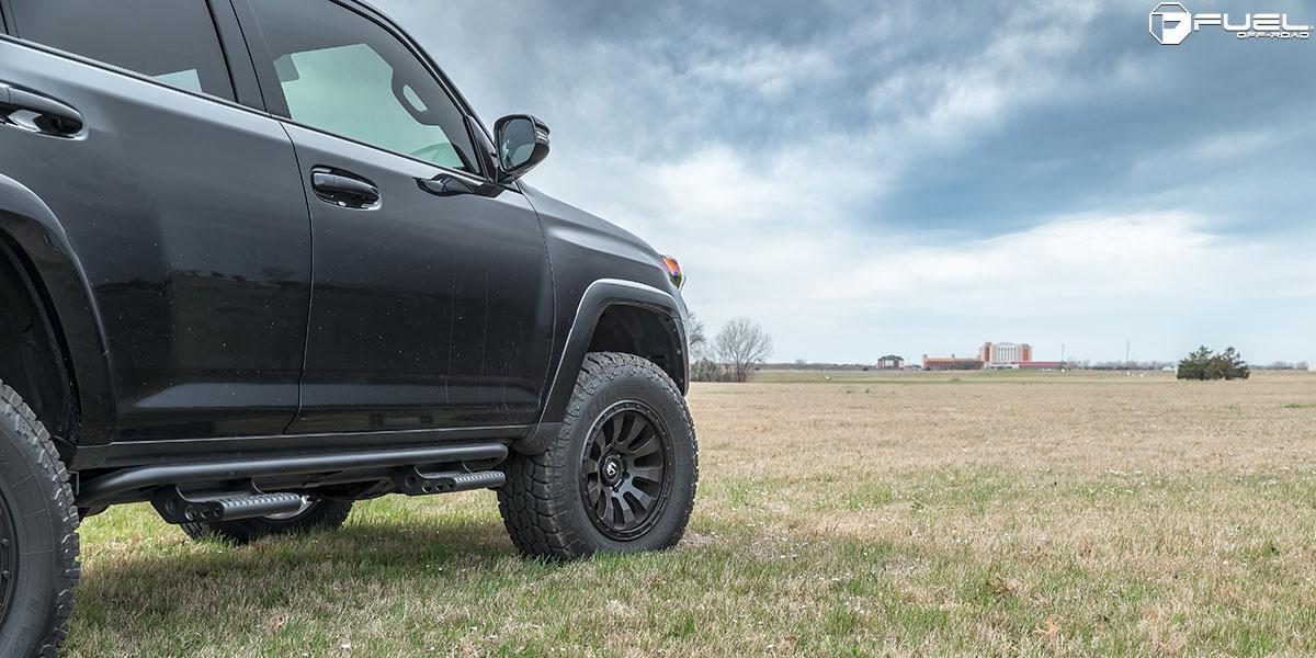 Toyota 4Runner 18x9 Fuel Tactic D630 Wheels