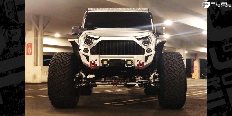 Jeep Wrangler 24x16 Fuel Cleaver D239 Wheels