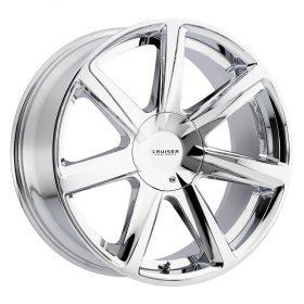 Cruiser Alloy Custom Wheels 922C Kinetic CHROME