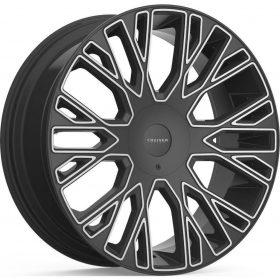 Cruiser Alloy Custom Wheels 923MB Raucous GLOSS BLACK MACHINED