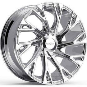 Cruiser Alloy Custom Wheels 925C Cutter CHROME
