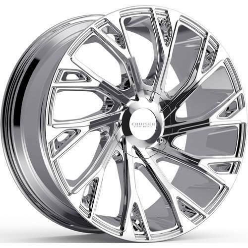 Cruiser Alloy Wheels 925C Cutter CHROME