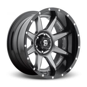 Fuel Custom Wheels RAMPAGE D238 MATTE GUNMETAL