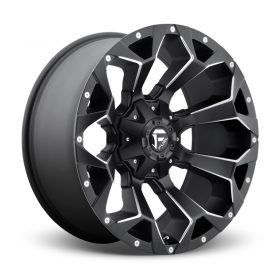 Fuel Custom Wheels MAVERICK D436 MATTE BLACK