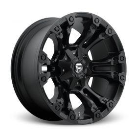Fuel Custom Wheels D560 VAPOR MATTE BLACK