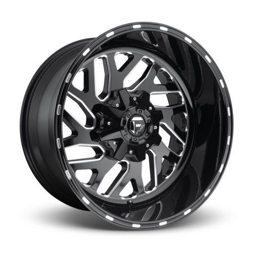 Fuel Custom Wheels TRITON D581 GLOSS BLACK MILLED