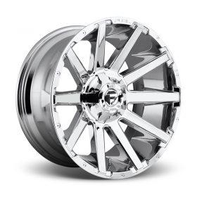 Fuel Custom Wheels D614 CONTRA CHROME