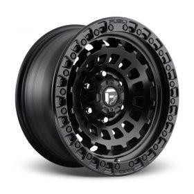 Fuel Custom Wheels D633 ZEPHYR MATTE BLACK