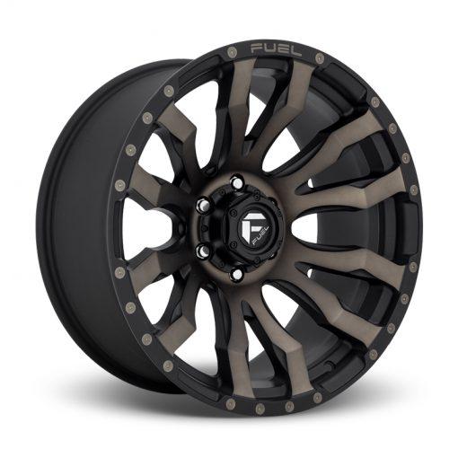 Fuel Custom Wheels BLITZ D674 MATTE BLACK DDT