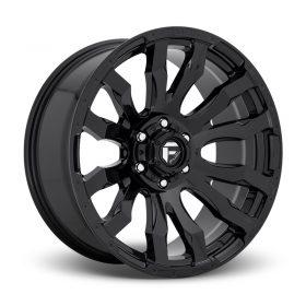 Fuel Custom Wheels D675 BLITZ GLOSS BLACK