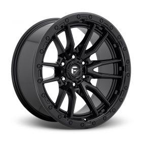 Fuel Custom Wheels D679 REBEL MATTE BLACK