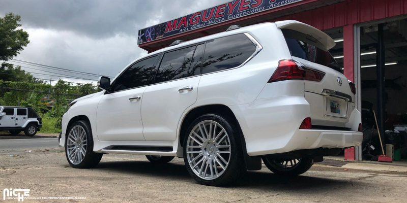 Lexus LX570 24x10 Niche Avant Wheels