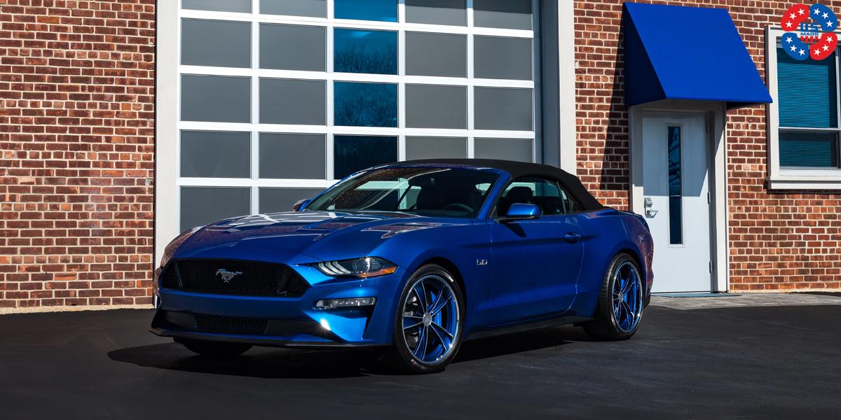 Ford Mustang 20 USMAGS Dayton U321 Wheels