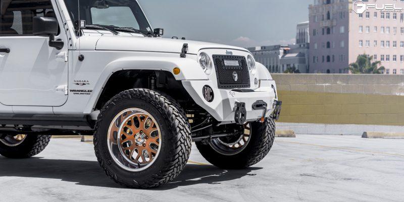 Jeep Wrangler 20x10 Fuel FF19 Wheels