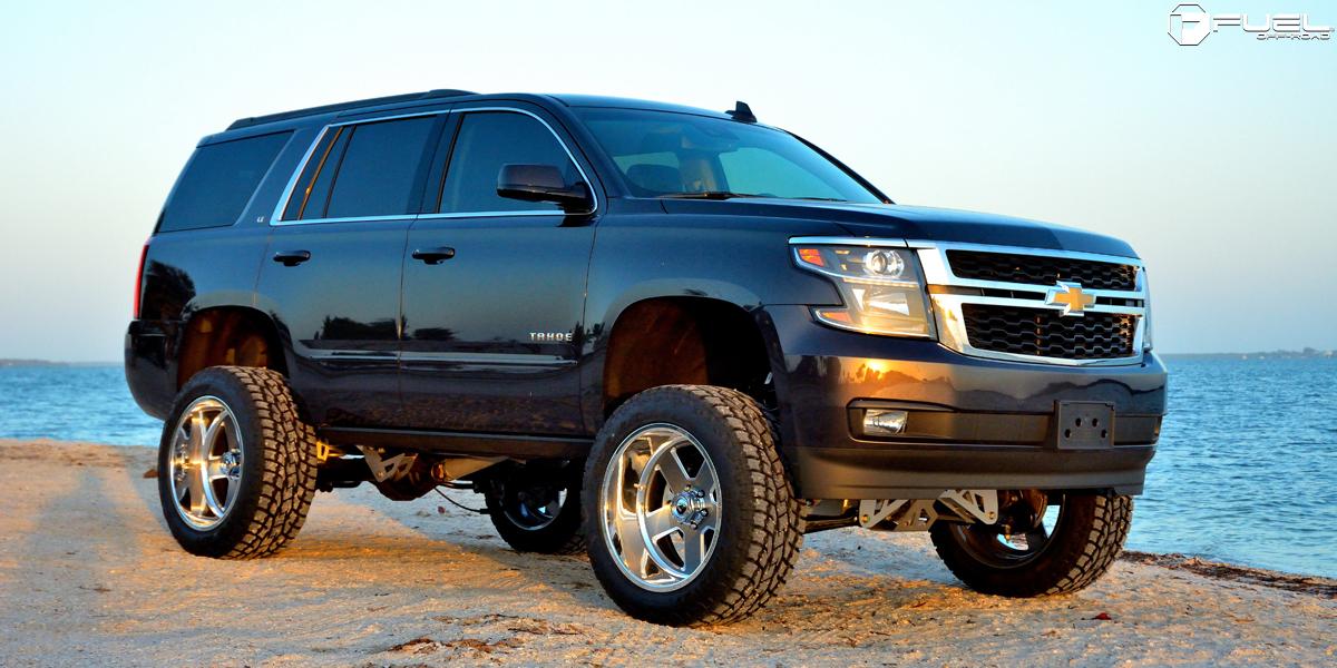 Chevrolet Tahoe 22x12 Fuel FF71 6 Lug Wheels