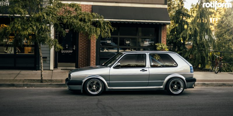 Volkswagen Golf 16x9 Rotiform TMB Wheels