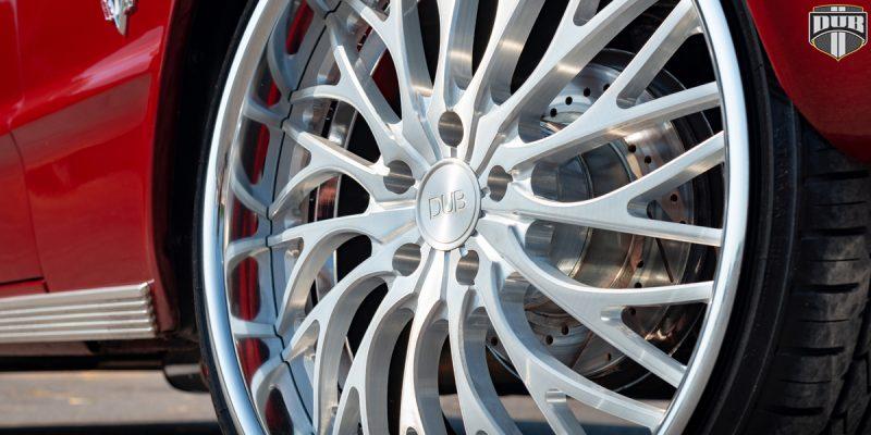 Chevrolet Impala 22x9 DUB Trikk X86 Wheels