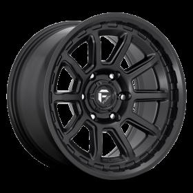 Fuel Custom Wheels TORQUE D689 MATTE BLACK
