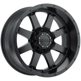 Gear Alloy Custom Wheels 726B Big Block SATIN BLACK