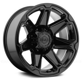 Gear Alloy Custom Wheels 745B Trident GLOSS BLACK