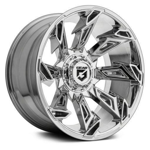 Gear Alloy Custom Wheels 752C Slayer CHROME