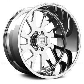 Gear Alloy Custom Wheels F71P1 POLISHED