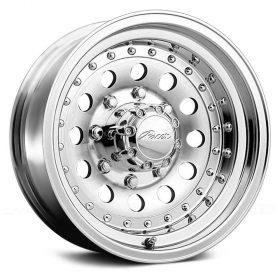 Pacer Custom Wheels 162M Aluminum Mod MACHINED