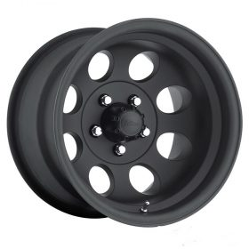 Pacer Custom Wheels 164B LT Mod Black MATTE BLACK