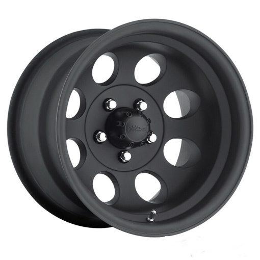 Pacer Wheels 164B LT Mod Black MATTE BLACK