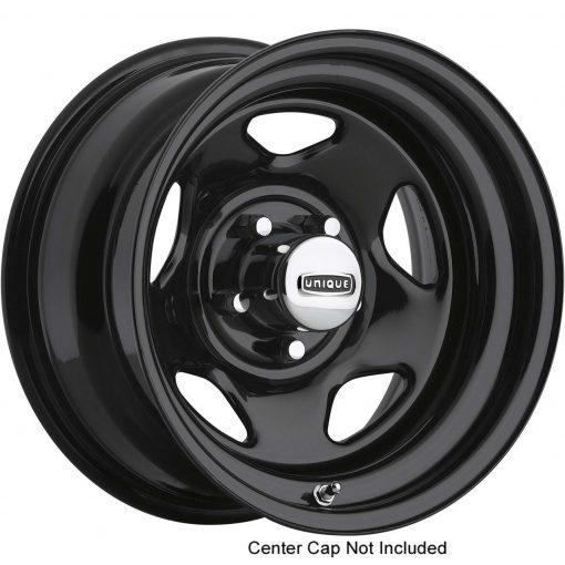 Pacer Wheels 365B Black V-5 BLACK