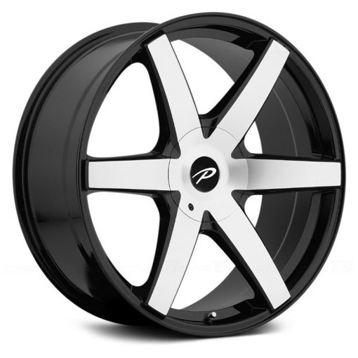 Pacer Wheels 785MB Ovation GLOSS MACHINED BLACK